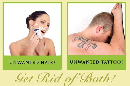 tatt and shaving